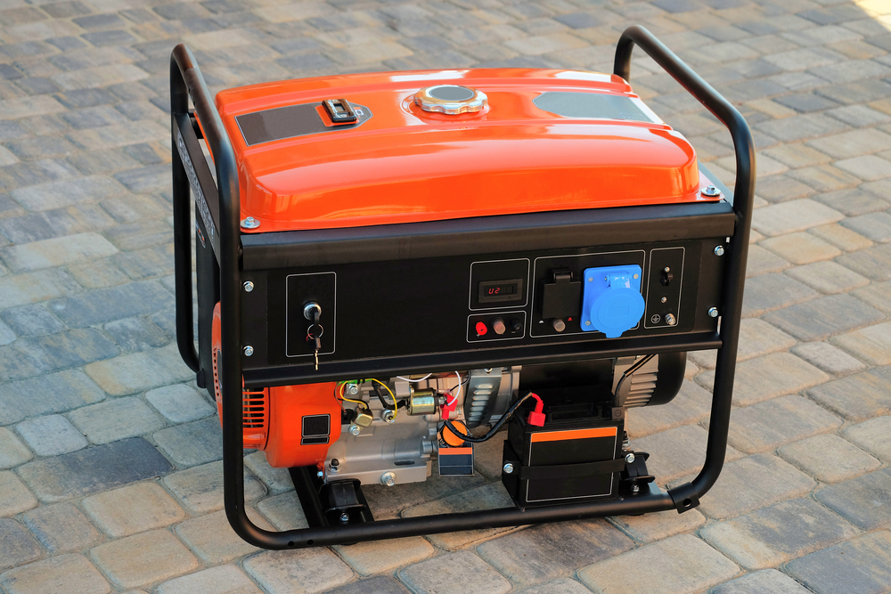 Orange Carb Compliant Generator